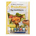 PBN JR Small Horses In Field -- Paint By Number Kit -- #pjs81