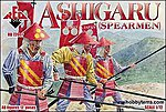 Ashigaru Spearmen Medieval Japan (48) -- Plastic Model Military Figure -- 1/72 Scale -- #72007