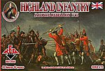 Jacobite Rebellion 1745- Highland Infantry (43) -- Plastic Model Military Figure -- 1/72 -- #72050