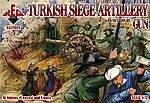 Turkish Siege Artillery XVI Century -- Plastic Model Military Figures -- 1/72 Scale -- #7206