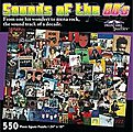Sounds of the 80's Album Covers Collage Puzzle (550pc)