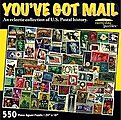 You've Got Mail US Postage Stamps Collage Puzzle (550pc)