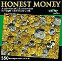 Honest Money Coins Collage Puzzle (550pc)