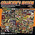 Collectors Edition Comic Books Collage Puzzle (550pc)