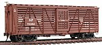 S-40-5 Stock Car (Ready to Run) Southern Pacific Kit -- HO Scale Model Railroad -- #39003