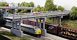 150' Highway Overpass w/Piers (4) -- Model Railroad Bridge -- N Scale -- #153