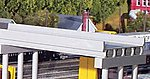 50' Modern Highway Overpass -- Model Railroad Bridge -- N Scale -- #161