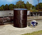 29' Water/Oil Tank Kit (Flat Top) -- Model Railroad Building -- HO Scale -- #500