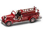 1935 Mack Type 75BX Hanover Dept. No.1 Fire Engine Truck -- Diecast Model Truck -- 1/43 -- #43001