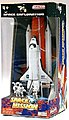 Space Shuttle w/Booster & Astronauts Die Cast Playset