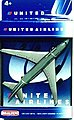 United Airlines B747-400 (5'' Wingspan) (Die Cast)