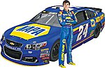 1/24 NAPA Auto Parts Chevy SS #24 Race Car (Chase Elliot)