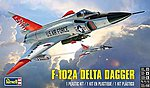 F102A Delta Dagger Fighter -- Plastic Model Airplane Kit -- 1/48 Scale -- #5869