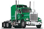 Kenworth W900 -- Plastic Model Truck Kit -- 1/25 Scale -- #851507