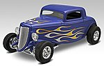 1934 Ford Street Rod -- Snap Tite Plastic Model Vehicle Kit -- 1/25 Scale -- #851943
