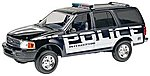 1997 Ford Police Expedition -- Snap Tite Plastic Model Vehicle Kit -- 1/25 Scale -- #851972