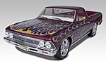 1966 Chevy El Camino 2 'n 1 -- Plastic Model Car Kit -- 1/25 Scale -- #852045
