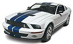 2007 Shelby GT500 -- Plastic Model Car Kit -- 1/25 Scale -- #852097
