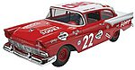 Fireball Roberts 1957 Ford -- Plastic Model Car Kit -- 1/25 Scale -- #854024