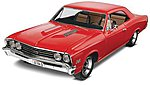 1967 Chevelle SS 396 -- Plastic Model Car Kit -- 1/25 Scale -- #854285