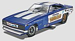 Hawaiian Charger Funny Car -- Plastic Model Car Kit -- 1/25 Scale -- #854287