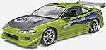 Fast & Furious Brian's Mitsubishi Eclipse -- Plastic Model Car Kit -- 1/25 Scale -- #854384