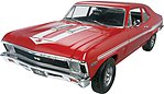 1969 Chevy Nova Yenko -- Plastic Model Car Kit -- 1/25 Scale -- #854423