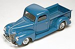 1940 Ford Custom Pickup Truck -- Plastic Model Truck Kit -- 1/24 Scale -- #854928