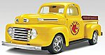 1950 Ford Pickup 2'n 1 -- Plastic Model Truck Kit -- 1/25 Scale -- #857203