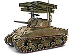 Sherman M4A1 Screamin' MIMI -- Plastic Model Military Vehicle Kit -- 1/32 Scale -- #857863