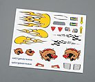 Dry Transfer Decal B -- Pinewood Derby Decal and Finishing -- #y9620