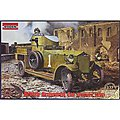 Pattern 1914 WWI British Armored Car -- Plastic Model Military Vehicle Kit -- 1/35 Scale -- #803