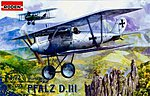 Pfalz D.III -- Plastic Model Airplane Kit -- 1/72 Scale -- #rd0003