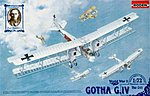 Gotha G.IV -- Plastic Model Airplane Kit -- 1/72 Scale -- #rd0011