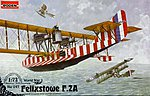 Felxstowe F.2A with Wing Gun -- Plastic Model Airplane Kit -- 1/72 Scale -- #rd0047