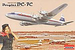 DC-7C Japan Air Lines -- Plastic Model Airplane Kit -- 1/144 Scale -- #rd0303