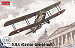 DeHavilland DH-4 USA -- Plastic Model Airplane Kit -- 1/48 Scale -- #rd0414