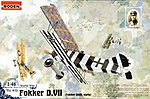 Fokker D.VII Early -- Plastic Model Airplane Kit -- 1/48 Scale -- #rd0415