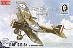 SE5a RAF W/Wolseley Viper -- Plastic Model Airplane Kit -- 1/48 Scale -- #rd0416