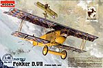 Fokker D.VII Late -- Plastic Model Airplane Kit -- 1/48 Scale -- #rd0417