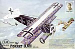 Fokker D.VII OAW Mid Prod -- Plastic Model Airplane Kit -- 1/48 Scale -- #rd0418