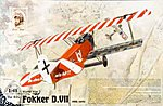 Fokker D.VII OAW Early -- Plastic Model Airplane Kit -- 1/48 Scale -- #rd0420