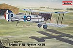 Bristol F.2B Mk.IV -- Plastic Model Airplane Kit -- 1/48 Scale -- #rd0428
