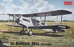 De Havilland DH4a Passenger -- Plastic Model Airplane Kit - 1/48 Scale -- #rd0431