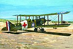 DeHavilland DH9 Ambulance -- Plastic Model Airplane Kit -- 1/48 Scale -- #rd0436