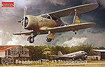 Beechcraft UC-43 Traveller -- Plastic Model Airplane Kit -- 1/48 Scale -- #rd0442