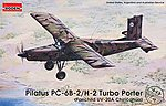 Pilatus PC-6B-2/H-2 Turbo Porter -- Plastic Model Airplane Kit -- 1/48 Scale -- #rd0443