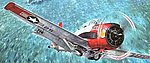 North American T-28C Trojan -- Plastic Model Airplane Kit -- 1/48 Scale -- #rd0451