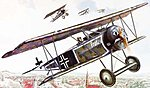 Fokker D.VI -- Plastic Model Airplane Kit - 1/32 Scale -- #rd0603