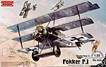 Fokker F.1 Triplane -- Plastic Model Airplane Kit - 1/32 Scale -- #rd0605